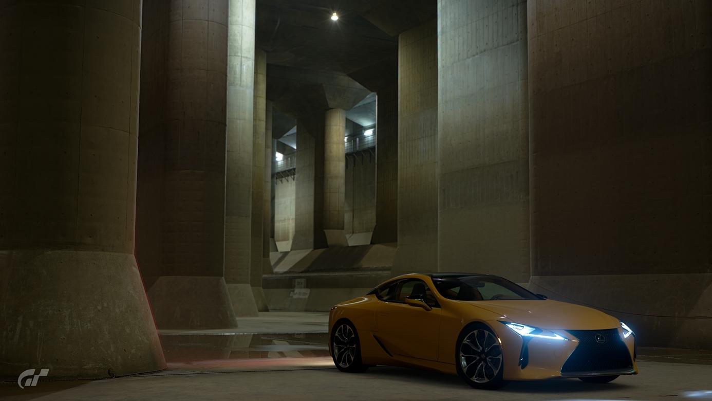 Gran Turismo Sport zdjecie z gry Lexus LC500 Japonia