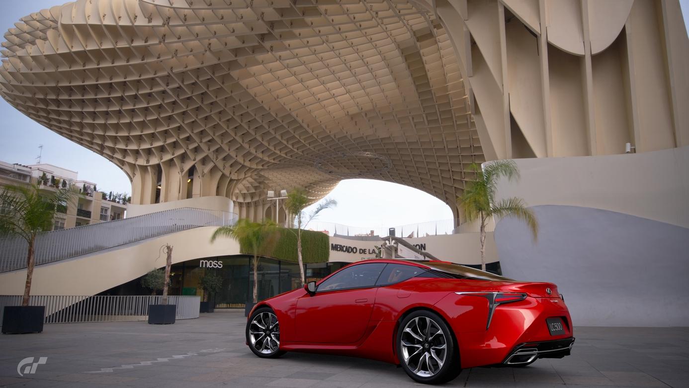 Gran Turismo Sport zdjecie z gry Lexus LC500 Sewilla