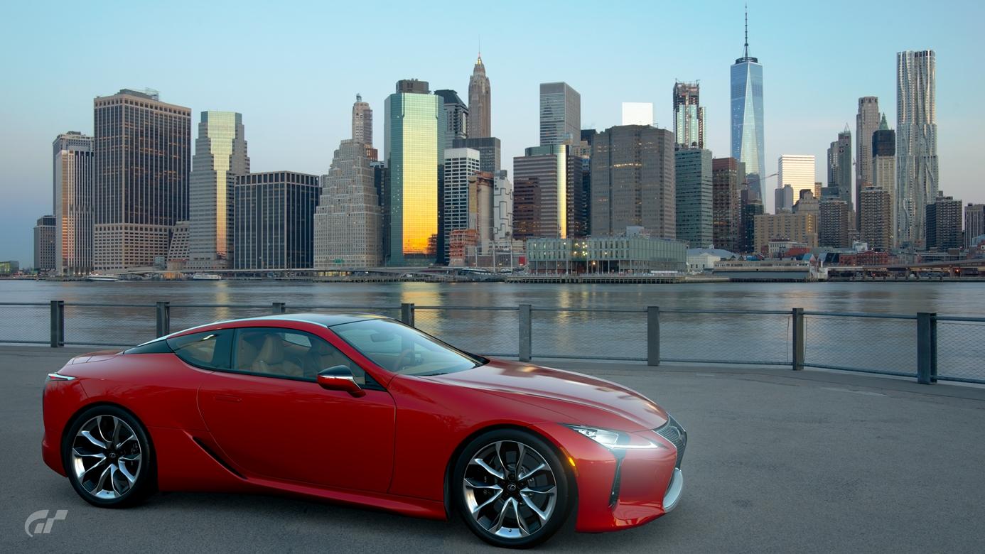 Gran Turismo Sport zdjecie z gry Lexus LC500 Manhattan