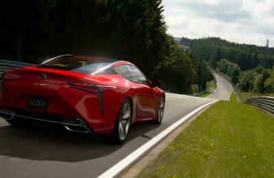 Gran Turismo Sport zdjęcie z gry Lexus LC500 Nurburgring