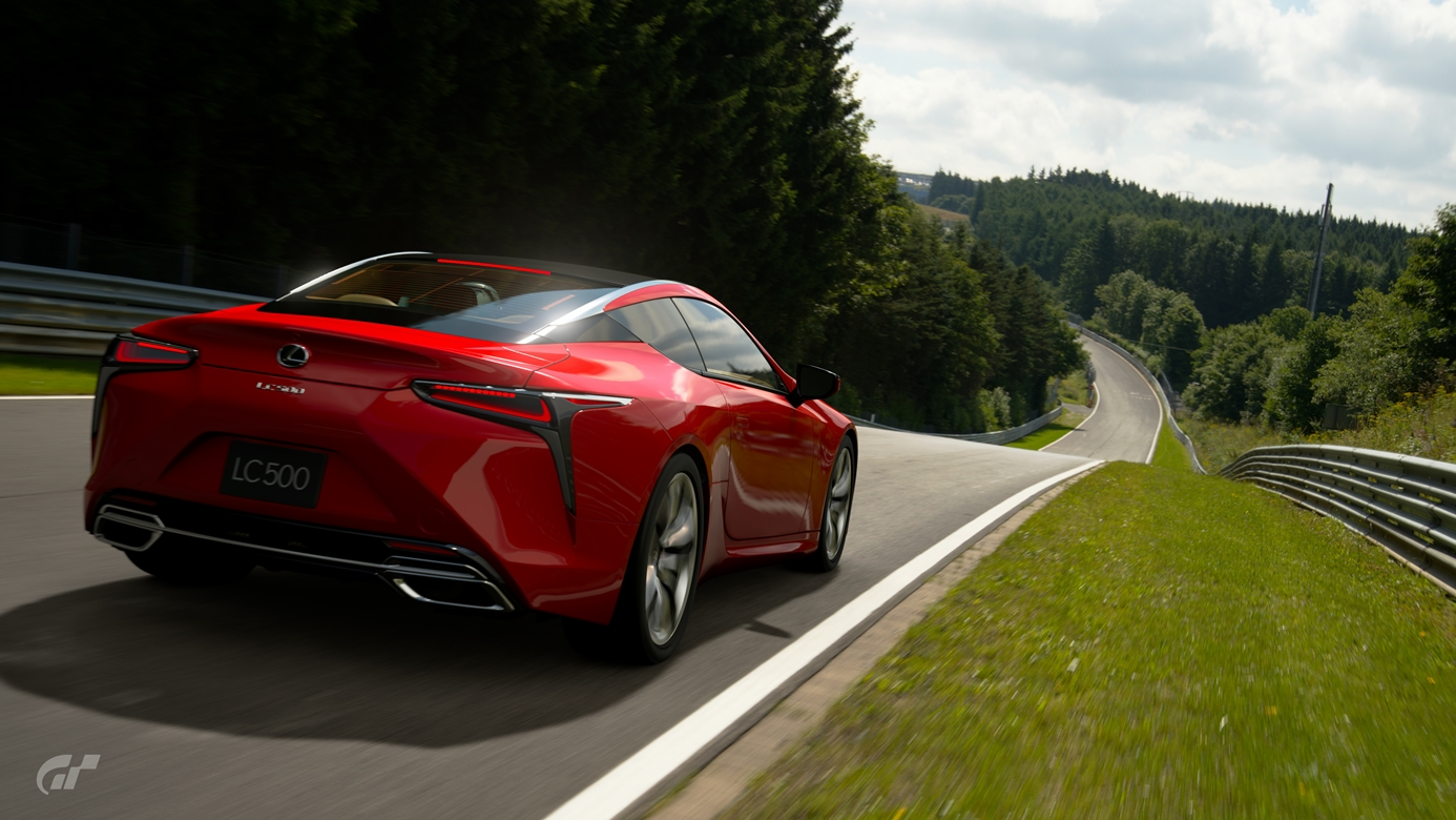 Gran Turismo Sport zdjecie z gry Lexus LC500 Nurburgring