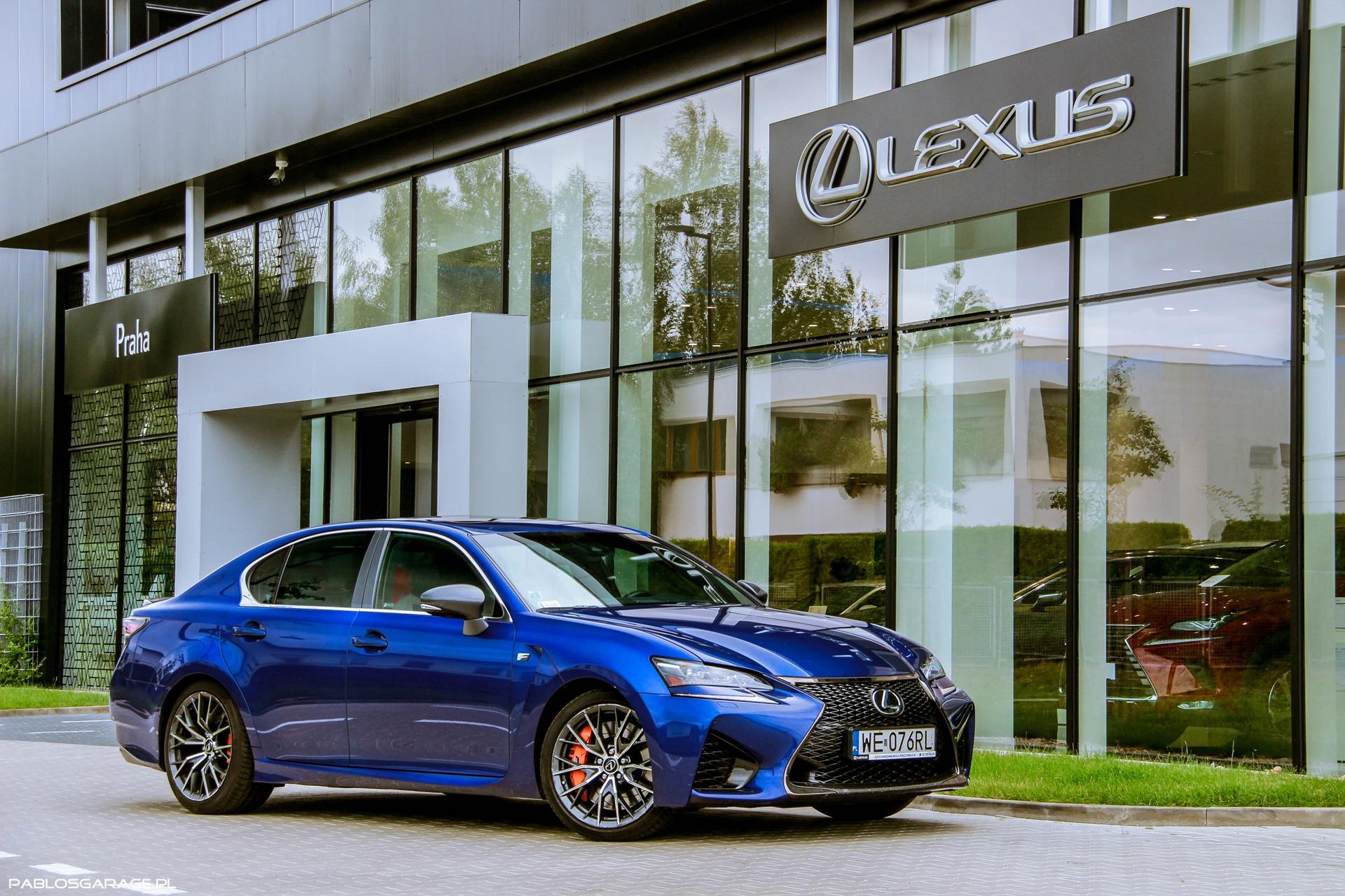 Lexus GS-F V8 477 KM
