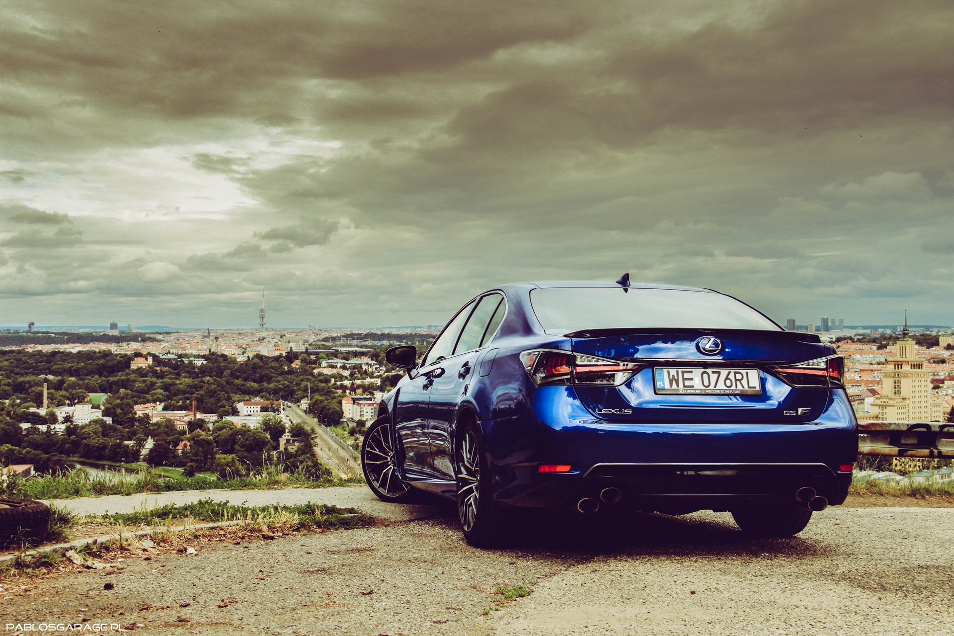 Lexus GS-F V8