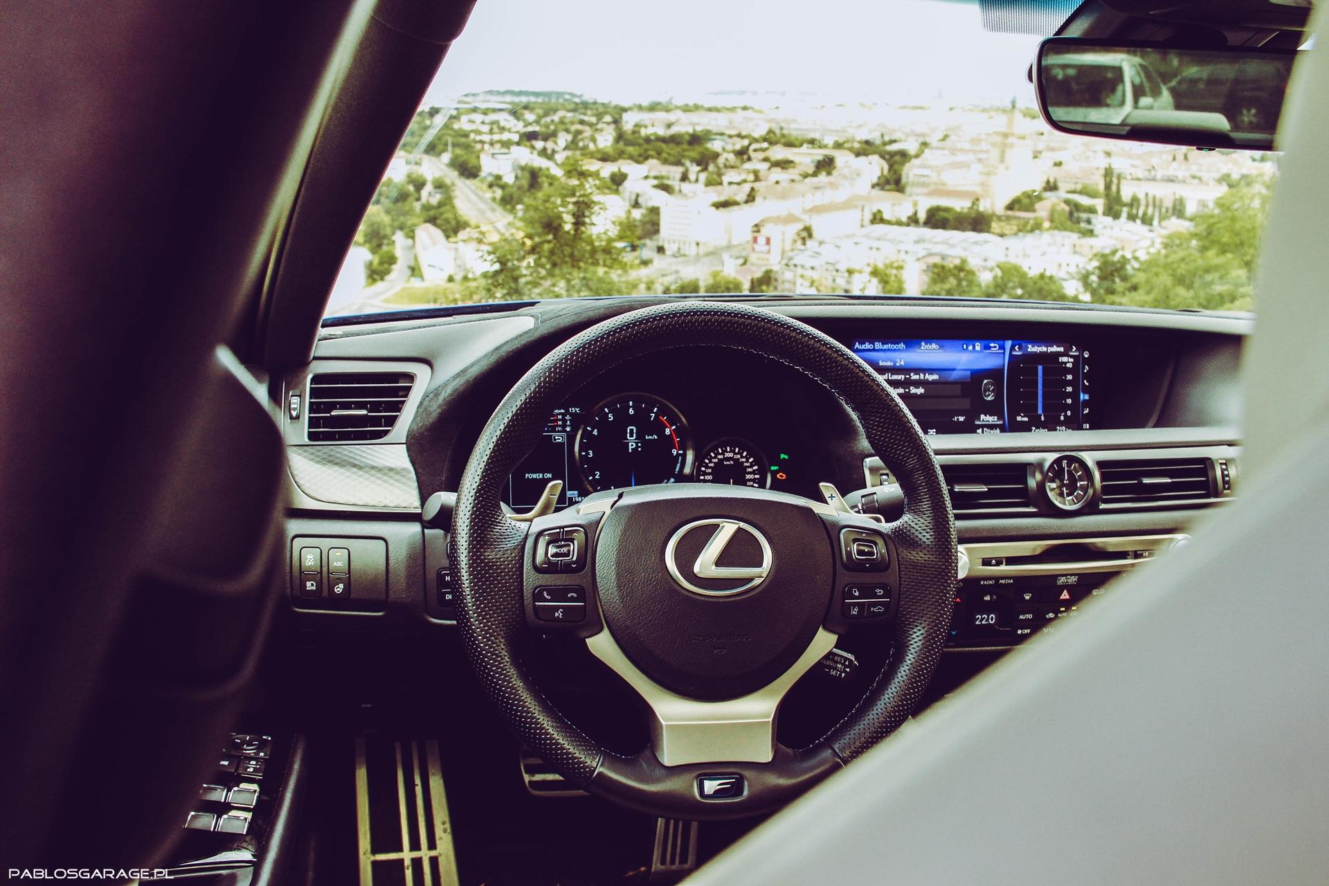 Lexus GS-F 5.0 V8