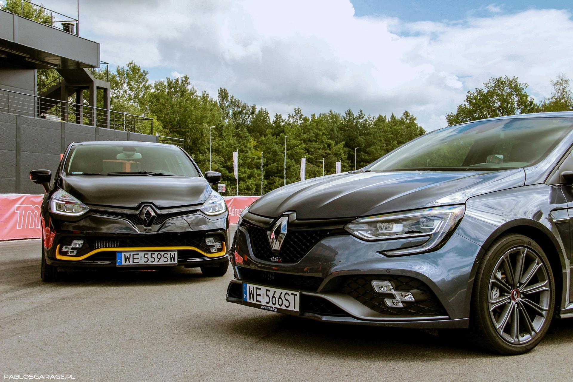 Renault Megane R.S. Renault Clio R.S. Trophy test