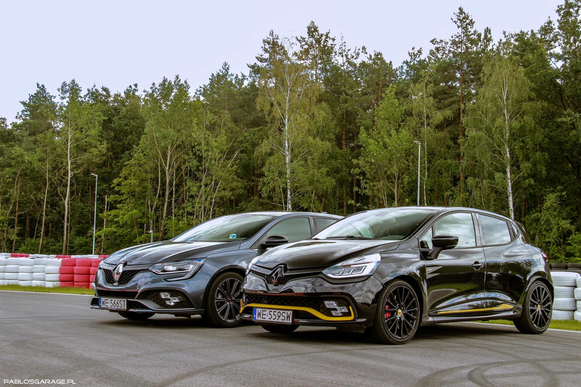 Renault Megane R.S. Renault Clio R.S. Trophy