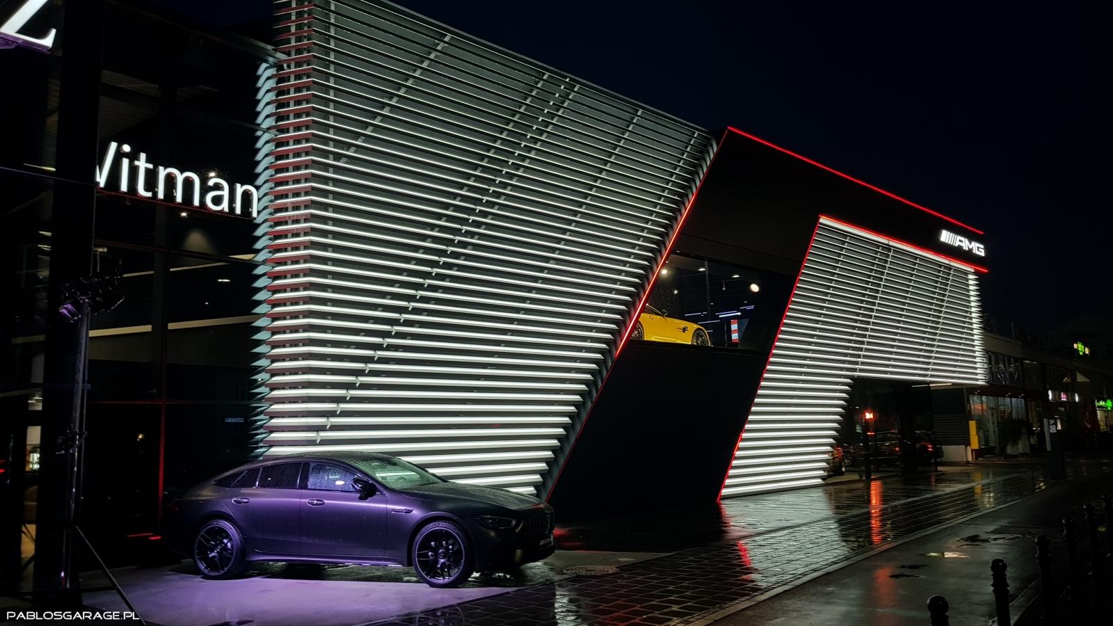 AMG Brand Center Gdańsk Mercedes Witman