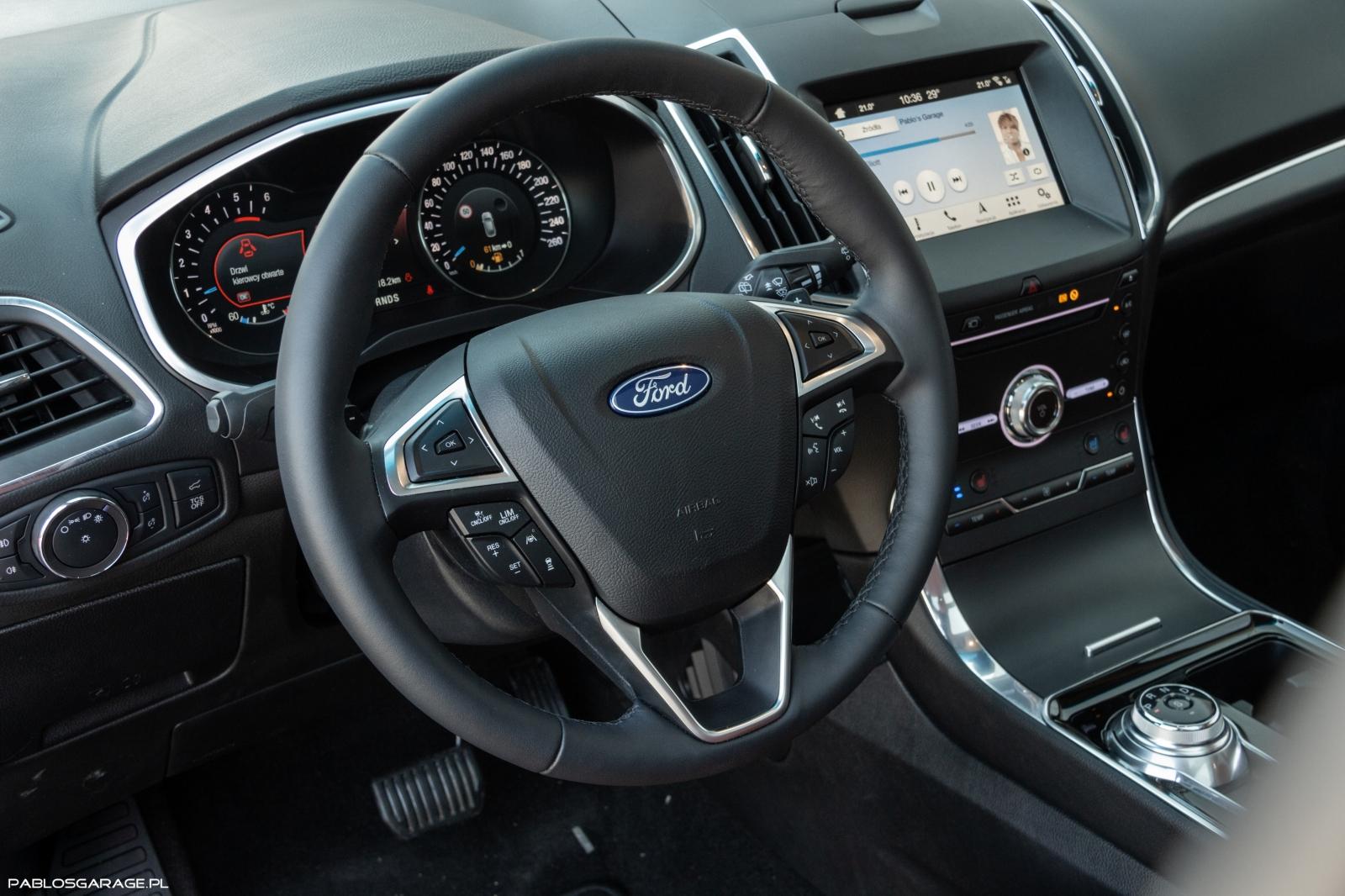 Ford Edge 2.0 EcoBlue Titanium TwinTurbo 238 KM 450 Nm