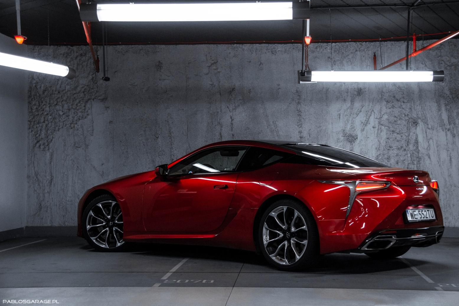 Lexus LC500 5.0 V8 464 KM