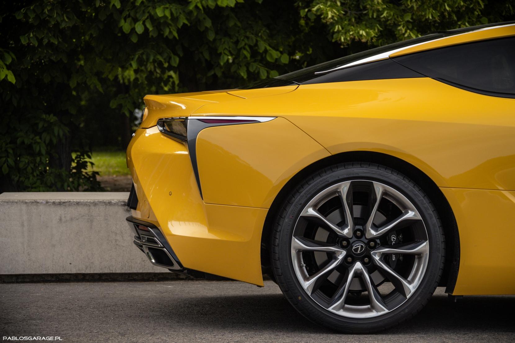 Lexus LC500 5.0 V8 464 KM Yellow Edition