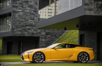 Lexus LC500 5.0 V8 464 KM Yellow Edition