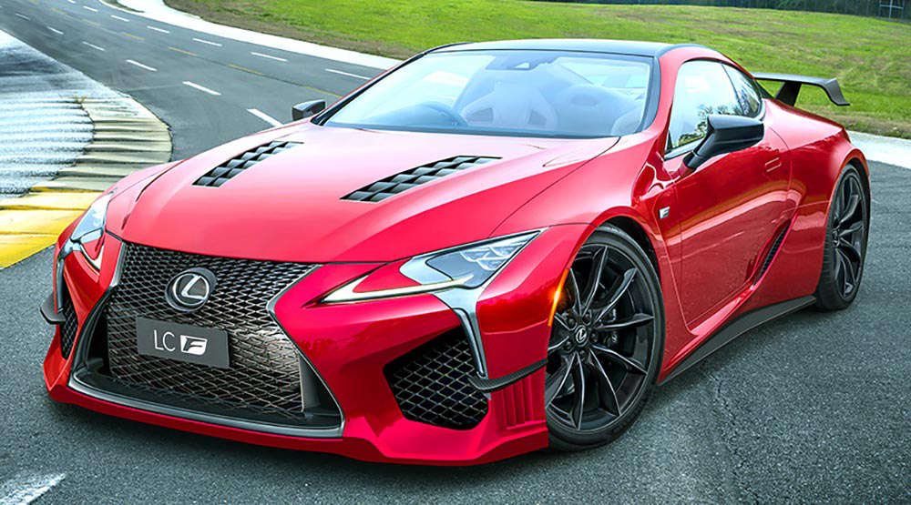 Lexus LC F 4.0 V8 Twin Turbo render