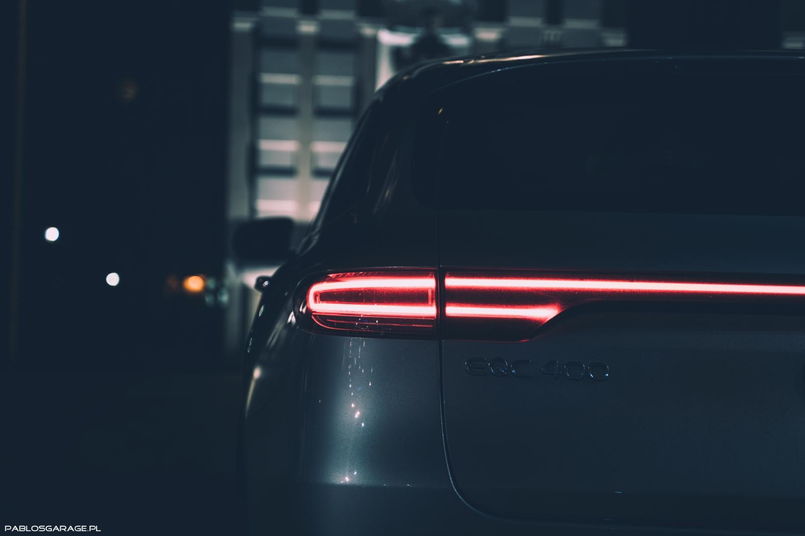 Mercedes-Benz EQC400 | 408 KM | Samochód elektryczny