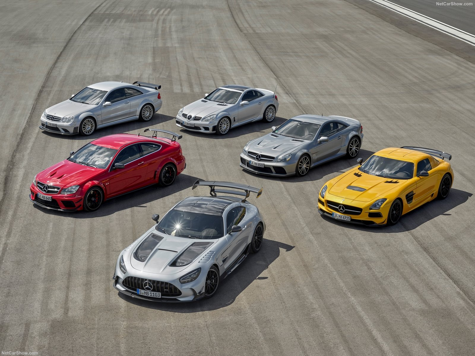All Mercedes AMG Black Series family
