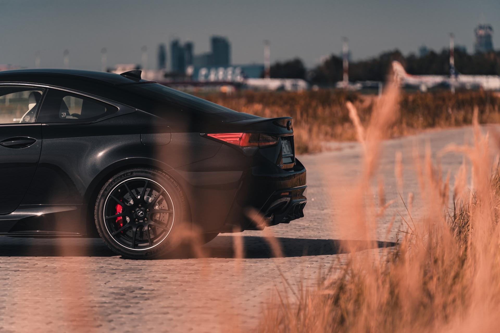 2021 Lexus RC F 5.0 V8 464 KM Carbon Edition