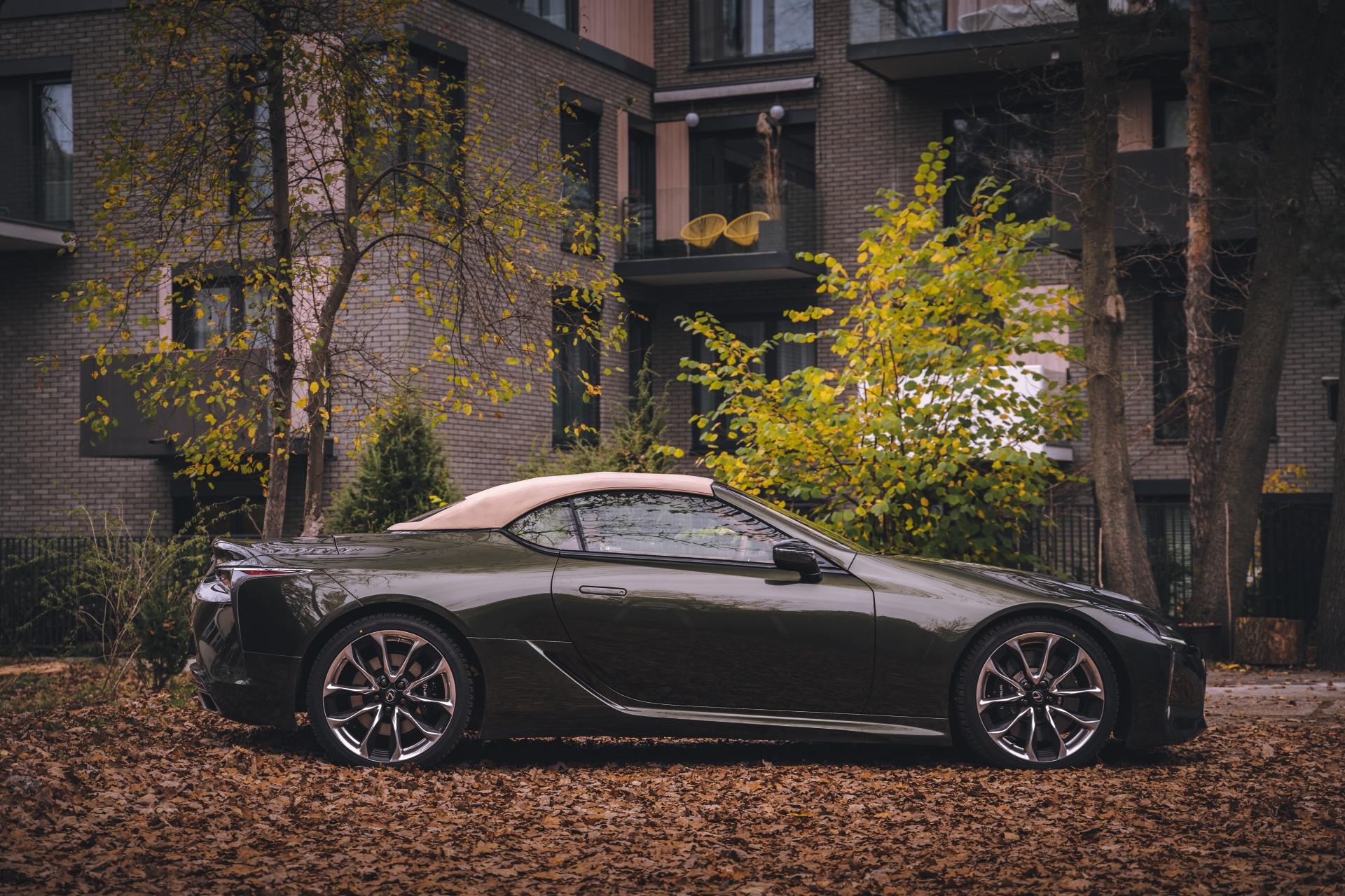 Lexus LC500 Convertible Superturismo V8